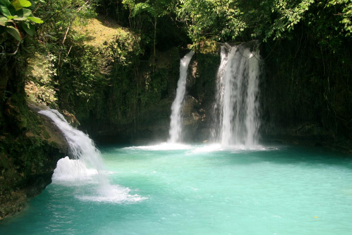 Водопады острова Себу