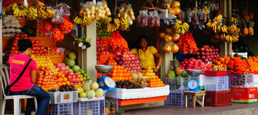 Сколько стоит покушать на Филиппинах
