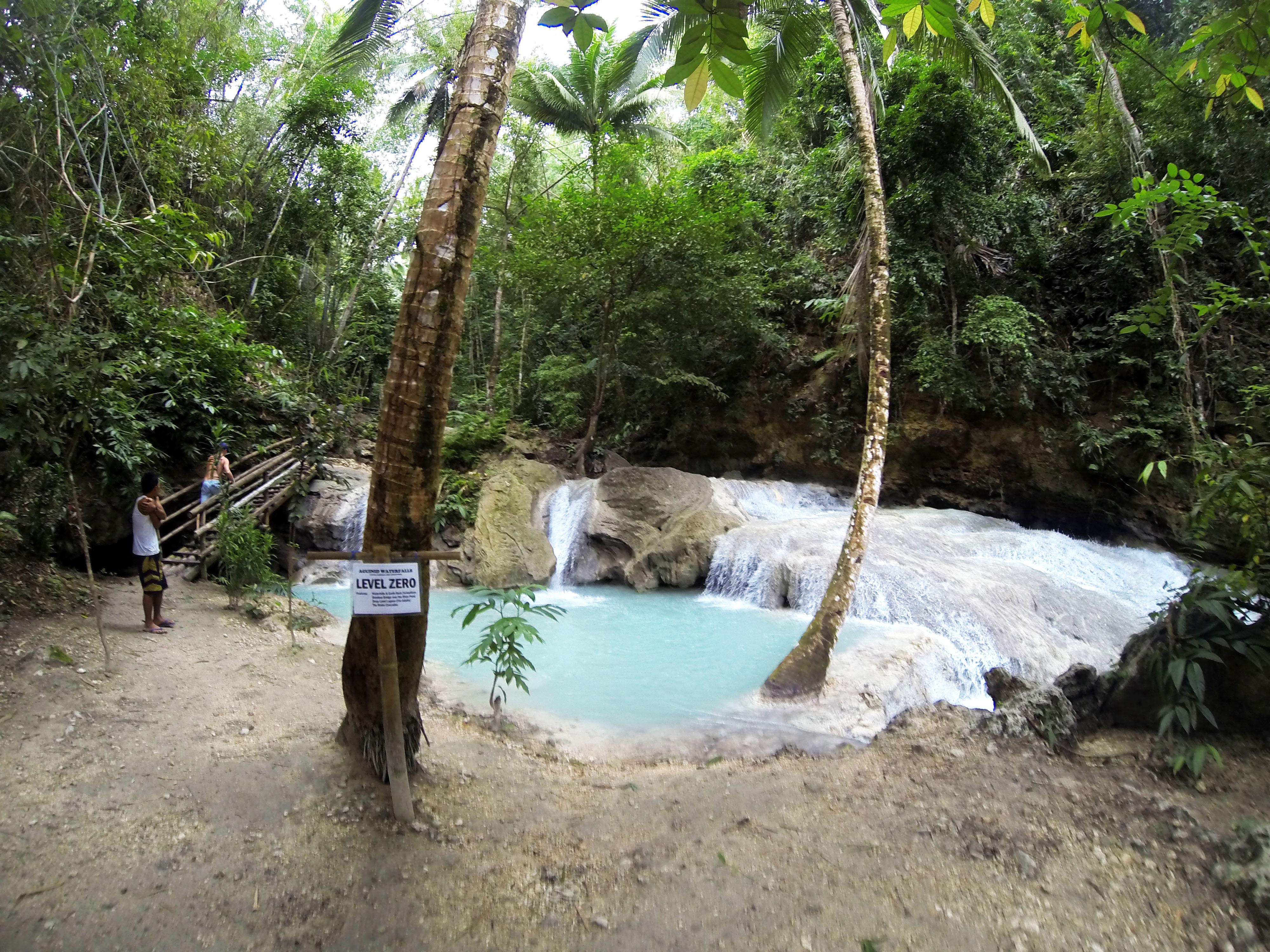 Водопад Агинид